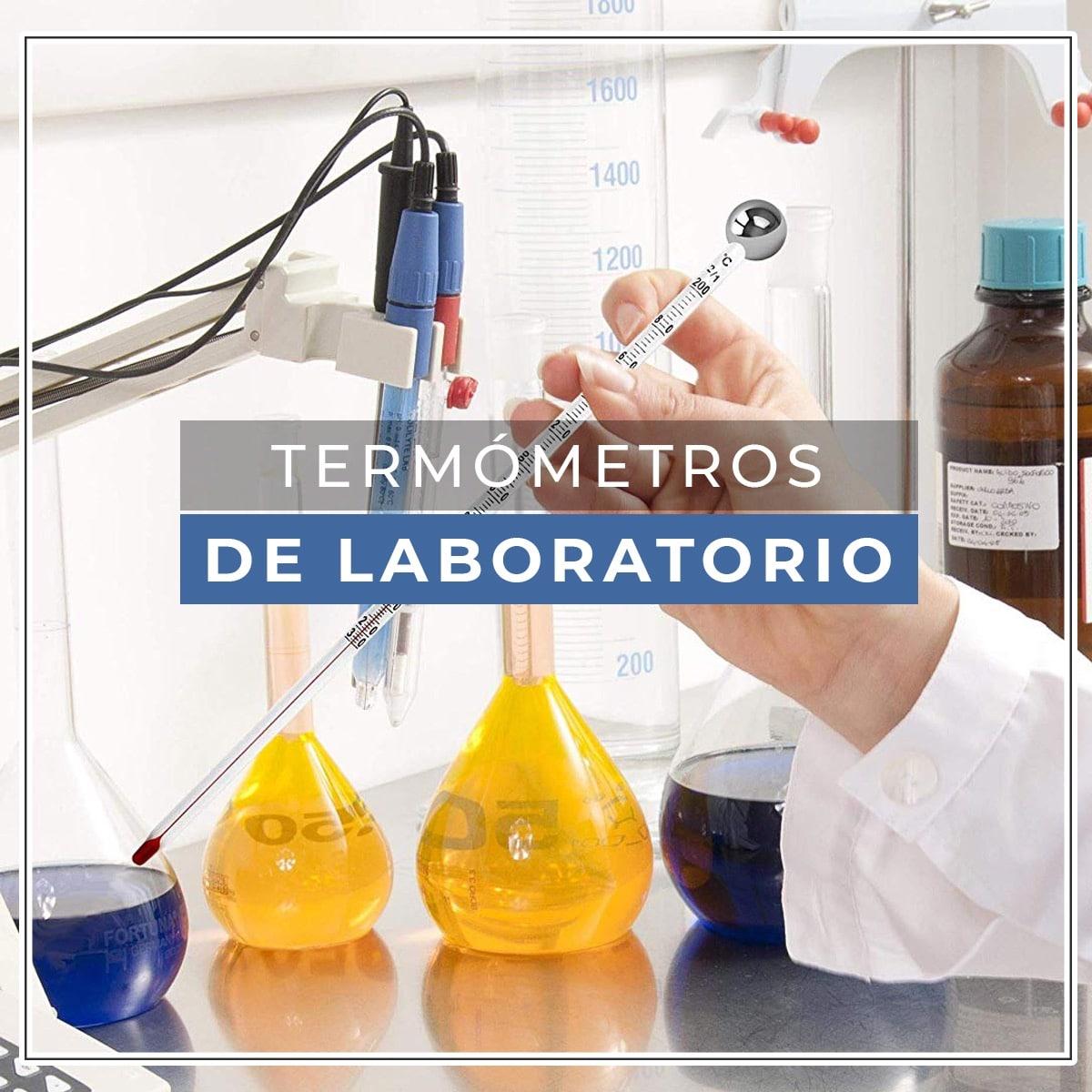 termometro de laboratorio