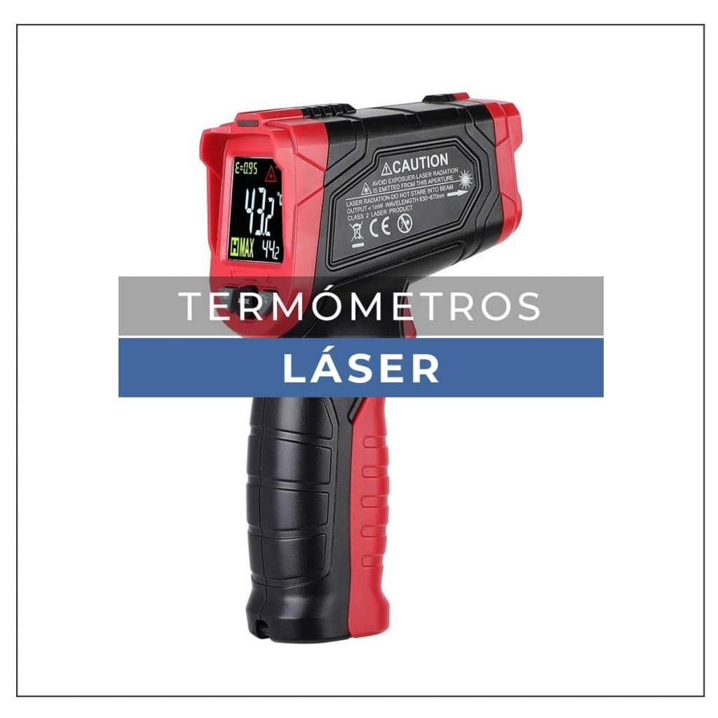 Termómetro láser