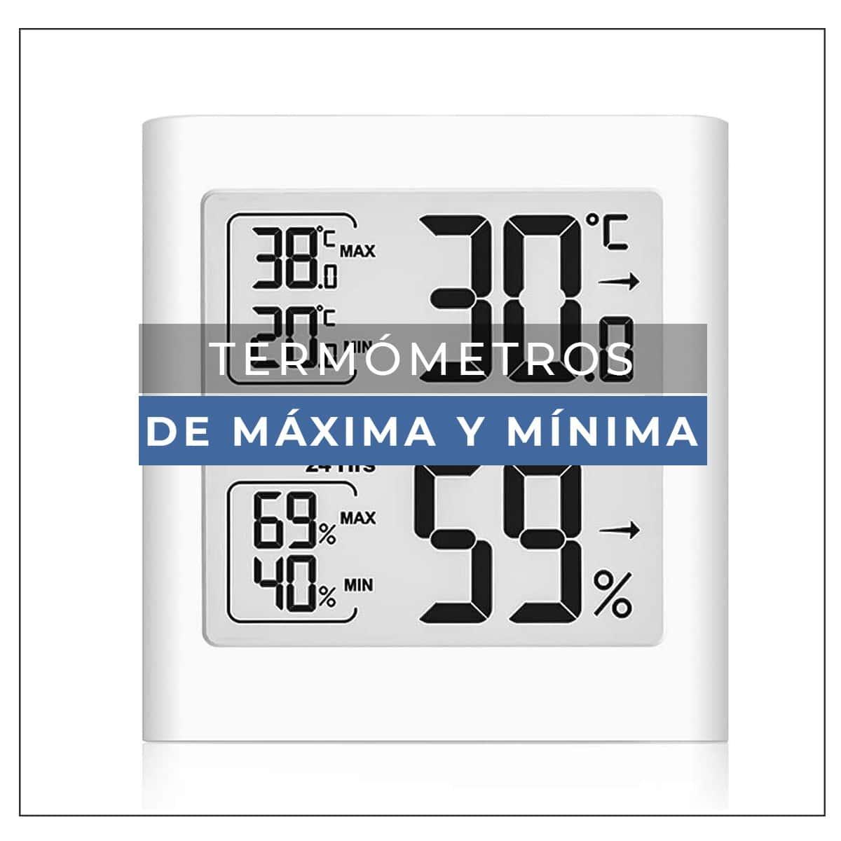 termometro maxima y minima