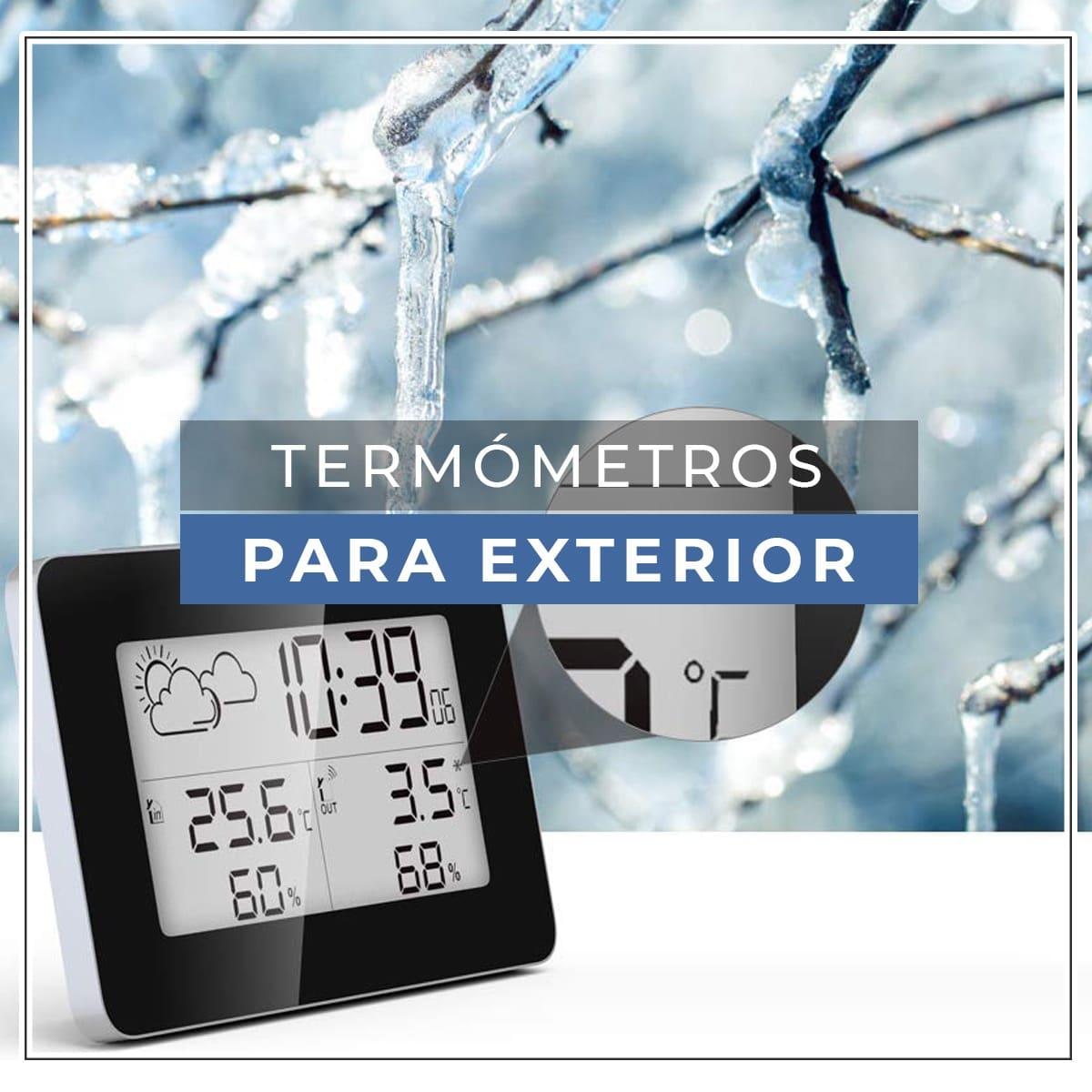 termometro para exterior