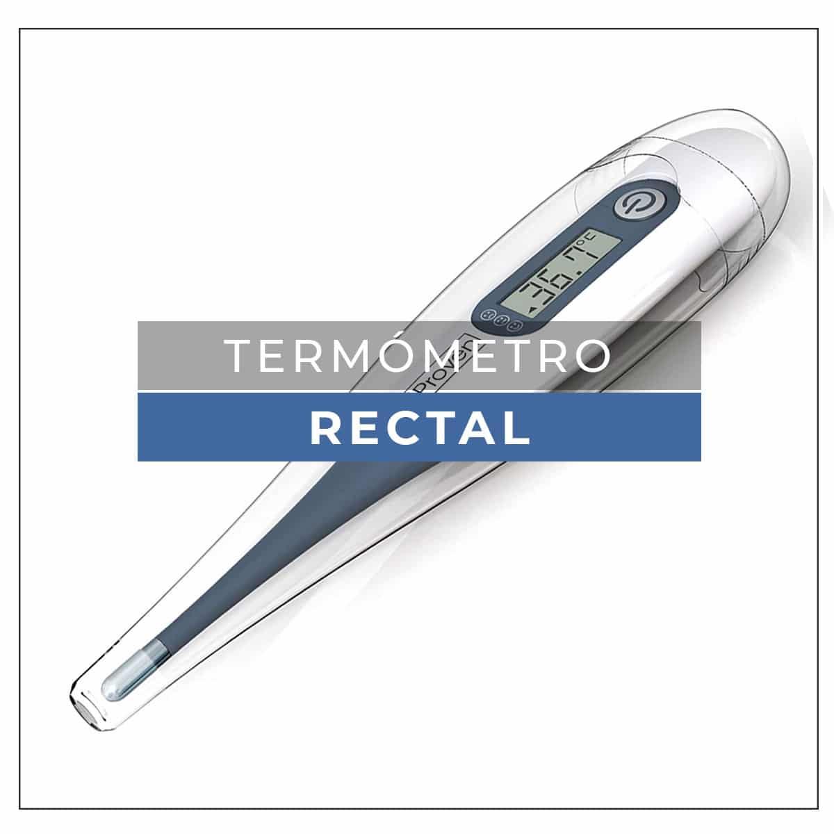 termometro rectal